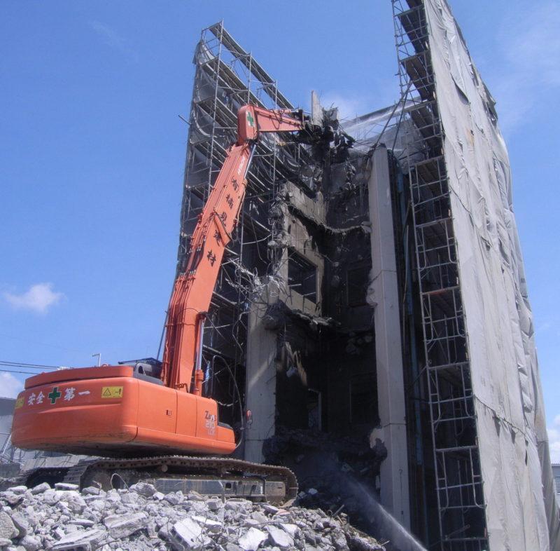 建設・解体業のイメージ